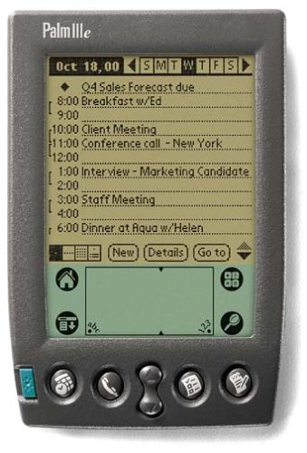 Review PalmOne IIIe Handheld