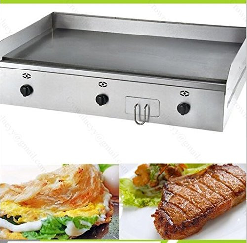 Keukenapparatuur Top RVS Gas Hot Plate Teppanyaki Machine Luxe LPG Gas Keuken Grillplaat en Grill