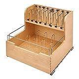 Rev-A-Shelf 4FSCO-24SC-1 Kitchen Food Storage Container Organizer Soft Close for 24 Inch Cabinets...