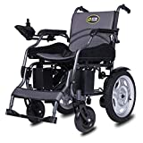 YLLN Silla de Ruedas eléctrica Ligero Anciano Discapacitado Inteligente Automático Scooter de Cuatro Ruedas