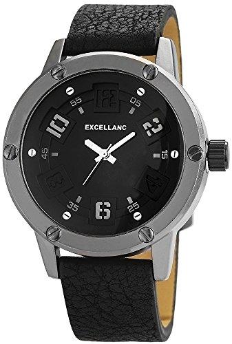 Excel lanc Reloj de Pulsera para Mujer de plástico-Abrazadera de Azul Oscuro Correa 158833000003