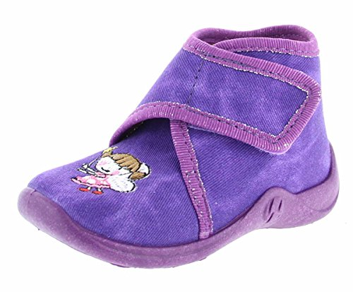 Rohde Mädchen Kiddie Hohe Sneaker, Violett (Brombeere), 24 EU