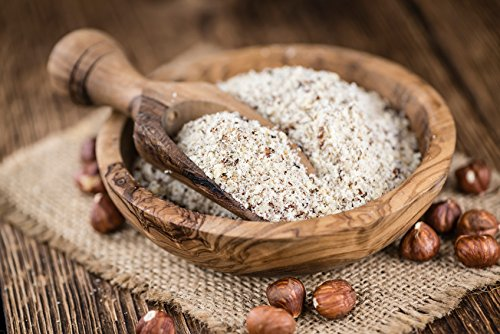 Noisettes en poudre 1 kg | Fruits secs naturels moulus en poudre | D'origine 100% naturelle | Poudre de noisette crues | Idéal pour les recettes ou la garniture de dessert | non grillées | Dorimed