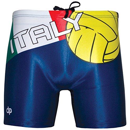 Diapolo Professional Italy Herren Swimhose Badehose (Mini Boxer/Maxi Boxer/Bermuda) (S-2XL) (Maxi Boxer, XL)