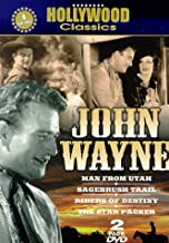 John Wayne 2 Pack: (The Man from Utah / The Star Packer / Sagebrush Trail / Riders of Destiny)