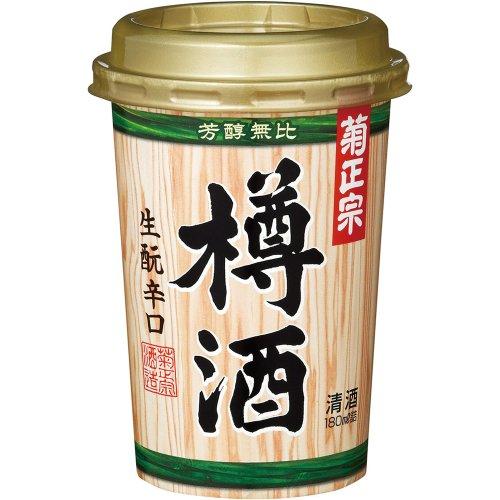 菊正宗 樽酒ネオカップ [ 日本酒 兵庫県 180ml×20本 ]