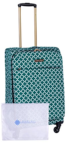 Jenni Chan Medley 2-Piece Set 24' Upright Spinner +311 Bag, Green, One Size