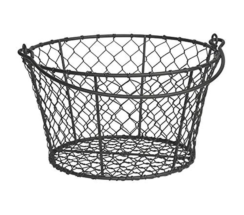 Premium Homestead Wire Basket Black Storage