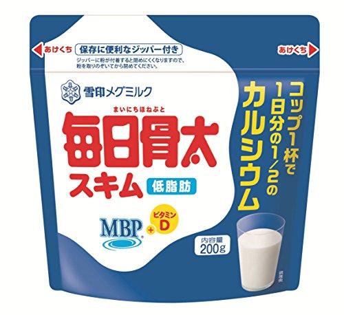 雪印メグミルク 毎日骨太スキム 200g
