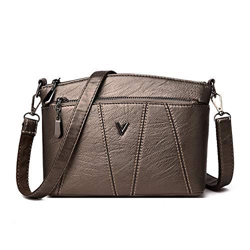 Yidajiu dames handtas van leer voor vrouwen handtassen designer handtas leer dames schoudertas messenger tas