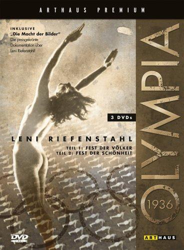 Leni Riefenstahl: Olympia 1+2 & Die Macht der Bilder - Arthaus Premium Edition (3 DVDs)