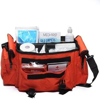 MFASCO Sports First aid Kit Bag Orange 277 Piece