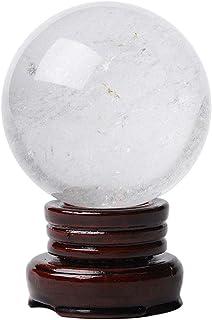 Decor Photography Ball المهندس شوي كريستال الكرة العرافة الكريستال الكرة تزيين المنزل مكتب الديكور هدية عيد عطلة هدية Cont...