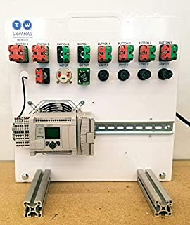 Allen Bradley Micrologix Industrial Control Panel Trainer for Automation and PLC Control