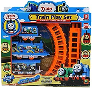 Thomas Train Set And Electric Small Splicing Track Toy