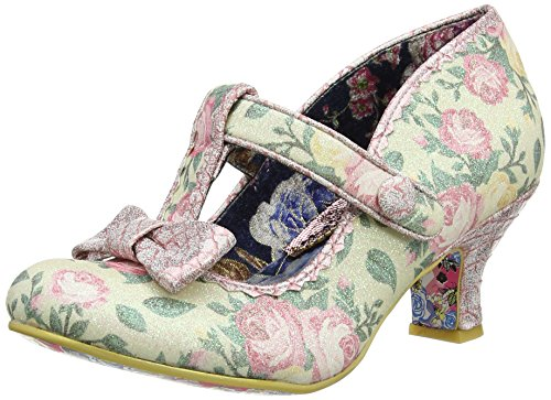 Irregular Choice Damen Lazy River Pumps, Rosa (Pink Floral), 39 EU