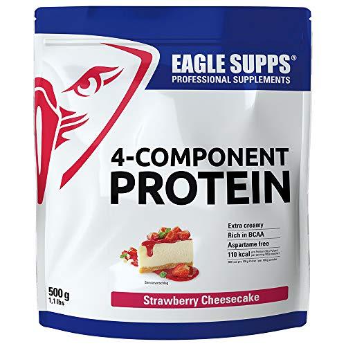 Eagle Supps 4-Komponenten Protein 500g Strawberry Cheesecake