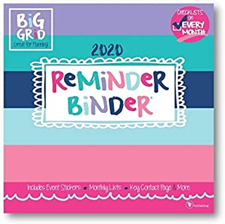 Calendars Reminder Binder Wall Calendar with Full Color Pages - All Major & Significant Holidays