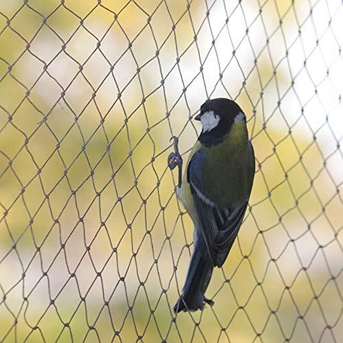 Tech-garden Filet de jardin anti-oiseaux sans danger résistant et souple de qualité professionnelle pour arbres fruitiers et potager 2 m x 5 m