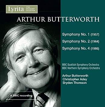 Butterworth: Symphonies Nos. 1, 2 & 4 (Live)