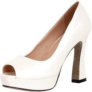 TAOFFEN Women Fashion Spring Shoes Slip On