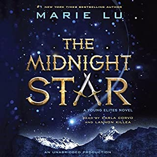 The Midnight Star audiobook cover art