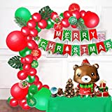 Wang Guozhang Weihnachtsdekoration Ballon Weihnachten Bär Weihnachtsdekoration Produkte Weihnachtsanhänger Aluminium Film Ballon Fischtail Flagge (Color : Suit A)
