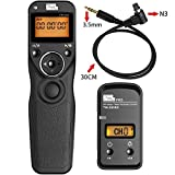 PIXEL FSK 2.4GHz Wireless Shutter Remote Release Control for Canon 7D Series, 5D Series, 50D, 40D, 30D, 10D