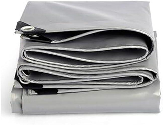 YANG HONG SHOP JL YH Auvent Bache Bache Tente Multifonction Housse Imperméable Ordinaire Résistant Aux Intempéries gris Renforcer Bache Multi-usages -0.45mm-550g   M2 A+ (Taille   2X 3m)