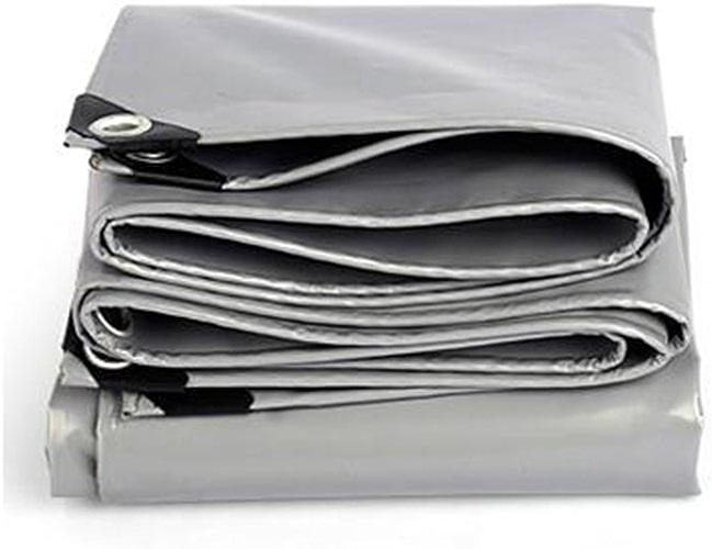 Arro Khan JL ZB Auvent Bache Bache Tente Multifonction Housse Imperméable Ordinaire Résistant Aux Intempéries gris Renforcer Bache Multi-usages -0.45mm-550g   M2 A+ (Taille   4X 5m)
