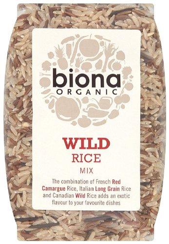 Biona Organic Wild Rice Mix 500 G (Pack Of 3)