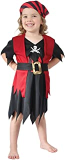Bristol Novelty Pirate Girl Toddler Costume Age 2 - 3 Years