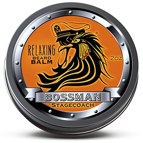 Bossman Relaxing Beard Balm – Nourish - Thicken - Strengthen Your Beard (Stagecoach)