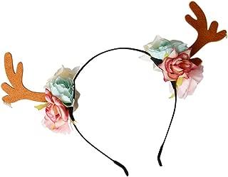 Unisex Cosplay Christmas Accessories Elk Ears Party Costume Cosplay Headband