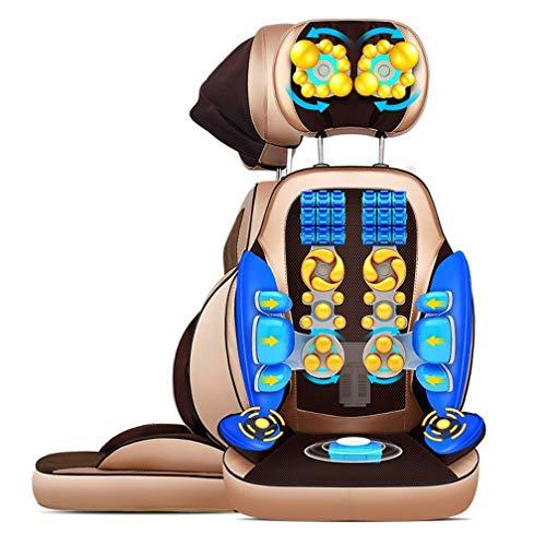 Cajolg Loooii zitkussen shiatsu-massage, massageapparaat, elektrische shiatsu-massage, nekkussen, nekkussen, massagekussen, warmtemassage, B