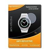 SWIDO Schutzfolie für Samsung Gear S2 Classic [2 Stück] Anti-Reflex MATT Entspiegelnd, Hoher Festigkeitgrad, Schutz vor Kratzer/Bildschirmschutz, Bildschirmschutzfolie, Panzerglas-Folie