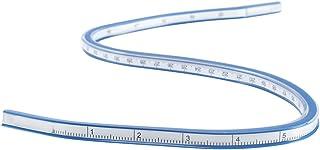 カーブルーラー メジャー 定規 50cm フレキシブルプラスチックカーブルーラー 描画スリーブ布プロットツール工学図面