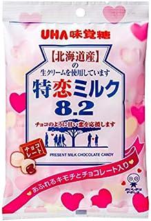味覚糖 特恋ミルク8.2チョコレート 80g×4袋