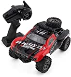 WGFGXQ RC Buggy Racing Car Kids RC Car 2.4Ghz High Speed 20km/h Off-Road Control Remoto Coche 1:18 2WD Toy Cars Rock Crawler para niños y niñas Baterías Recargables para automóvil Regalo para n