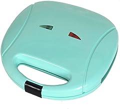 Elektrisch sandwich huishoudapparaat mini brood pan anti-stick machine voor muffingrooster (kleur: groen)