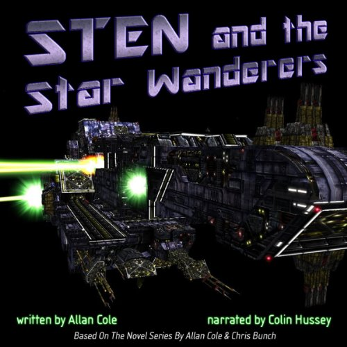 Sten and the Star Wanderers audiobook cover art