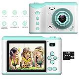 Kids Digital Camera Gift, Rechargeable HD Video Photo Camera, Kids Mini Selfie Touch