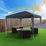 Oppikle 3x3m /3x6m Garden Gazebo Marquee Tent with Side Panels, Fully Waterproof, Powder Coated Steel Frame for Outdoor… 6