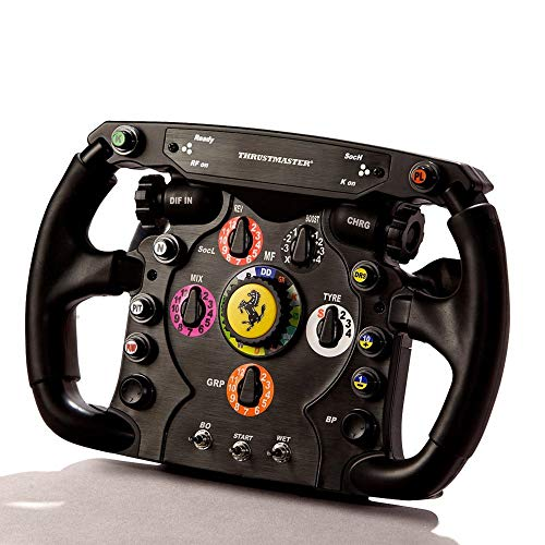Thrustmaster T300 Integral Rw Volante, Alcantara Edition - PC/PS4/PS3 + THRUSTMASTER Volante Ferrari F1 Wheel ADD-ON PC/PS3/PS4/Xbox One