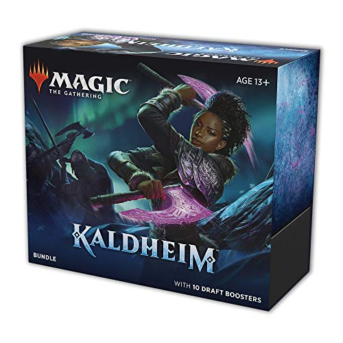 Magic The Gathering: Kaldheim| Bundle Booster | 10 Boosters | 15 cards por Booster | Inglês