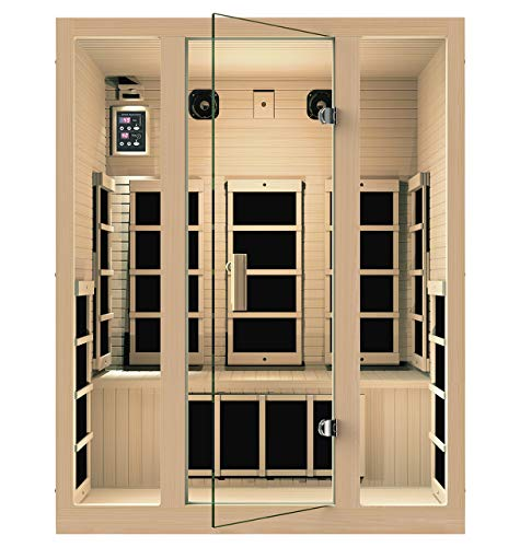 JNH Lifestyles Joyous infrared sauna for home