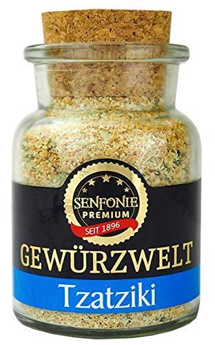 Altenburger Original Senfonie Premium Tzatziki Gewürzzubereitung, 90g im Korkenglas, natürliche Gewürzmischung ohne künstliche Zusatzstoffe