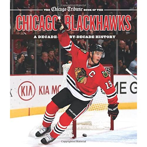 photograph about Chicago Blackhawks Printable Schedule titled The Chicago Tribune Ebook of the Chicago Blackhawks: A Ten years