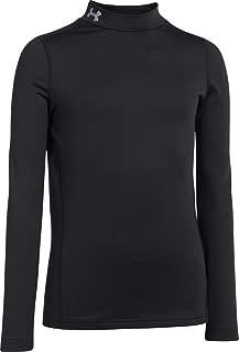 Boys ColdGear Evo Fitted Long Sleeve Mock T-Shirt