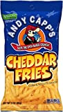 Andy Capp's Cheddar Fries, 3-Ounce Bags (Pack of 12) by Andy Capp's